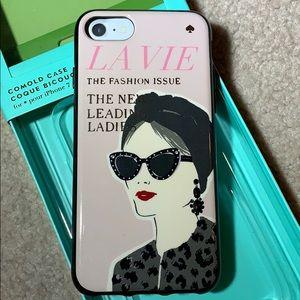 Kate Spade IPhone 7 jeweled magazine case